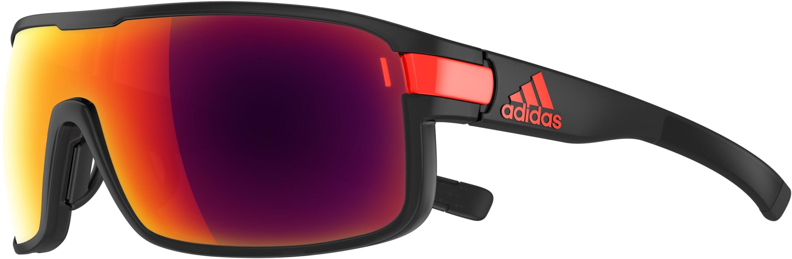 1e3298932ad0 adidas Zonyk Glasses L coal matt/red at Bikester.co.uk